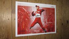 Michael Schumacher F1 Legend Jumping POSTER