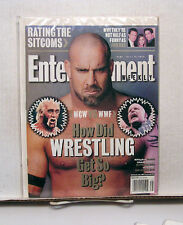 1990s Entertainment Weekly Magazine #481-WCW VS WWF/FRIENDS/RATING SITCOMS