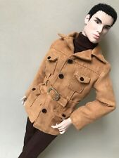 """FASHION ROYALTY STYLE LAB INDUSTRY POPPY HOMME MALE DOLL NUDE NIGEL 12"""""""