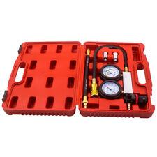 Automotive Engine Cylinder Leak Leakdown Gauge Compression Tester Detector Kit