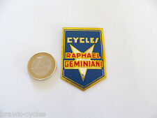 autocollant CYCLES Raphaël GEMINIANI, ORIGINAL neuf. 1960's NOS sticker.