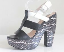 """TopShop Women's Very High Heel (greater than 4.5"""") Wedge Sandals & Beach Shoes"""