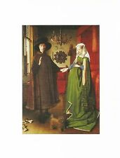 Postcard Jan Van Eyck The Arnolfini Portrait 1434 MINT