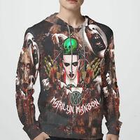 Marilyn Manson Music New sweatshirt Hoodie for Men