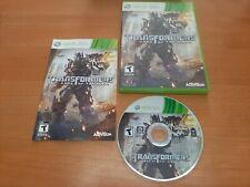 Transformers: Dark of the Moon (Microsoft Xbox 360, 2011)