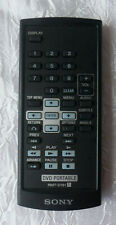 Genuine SONY RMT-D191 DVD PORTABLE REMOTE CONTROL DVPFX721 DVPFX730 DVPFX730D