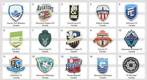 Badge Pin Canada Football Clubs