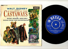 "HALEY MILLS & MAURICE CHEVALIER.IN SEARCH OF THE CASTERWAYS.UK ORIG 7"" EP.EX/VG"