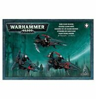 Warhammer 40k Dark Eldar / Drukhari Reavers X3 *Brand New* Unboxed Commorragh
