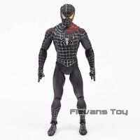 Diamond Select Black Suit Spiderman PVC Loose Action Figure Model Toy