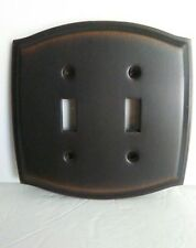 Distressed Antique Bronze (1)Switchplate Wall plate covers light switch 2 Toggle