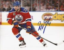 Milan Lucic signed Edmonton Oilers 8x10 photo autographed