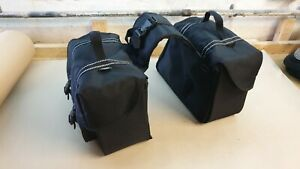 genuine Triumph T100 865cc left and right panniers luggage