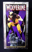 Wolverine Brown Costume X-Men Marvel Comics FS Statue 2001 Bowen Designs *BROKEN