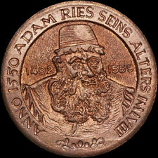 ANNABERG-BUCHHOLZ / SACHSEN: Medaille ohne Jahr. ADAM RIES.