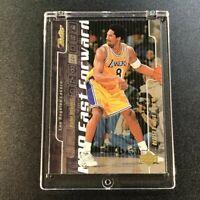 KOBE BRYANT 1999 UPPER DECK RETRO #F2 FAST FORWARD GOLD FOIL INSERT NBA LAKERS