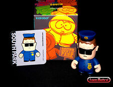 "Officer Barbrady South Park Series - Kidrobot - 3"" Figure Brand New Mint in Box"
