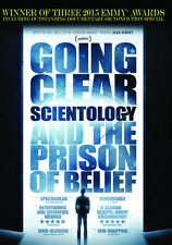 Going Clear: Scientology & The Prison Of Belief (2015, REGION 1 DVD New)