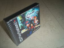 CHRONO CROSS.PS1 NTSC CASE+INLAYS ONLY.NO GAME