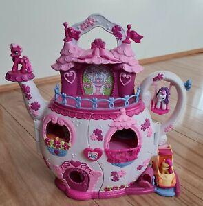 My Little Pony Ponyville Musical Teapot Palace Light & Sounds 7 Pony Figures car
