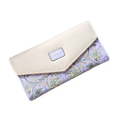 Women Lady PU Leather Clutch Envelope Wallet Long Card Holder Case Purse Handbag