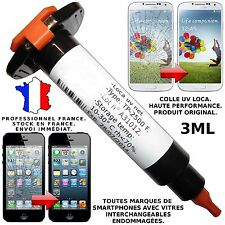 LOCA UV COLLE GLUE 3ML GALAXY I9300 I9500 IPHONE 4 5 RÉPARATION VITRE ÉCRAN LCD