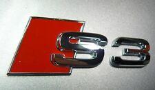 Original AUDI S3 Schriftzug Logo Emblem NEU 8L / 8P / 8V  8P0853735 2ZZ Zeichen