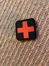 Ex Police First Aid Rubber Badge / Patch. New. 1178.