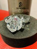 Swarovski Silver Crystal The Rose 174956 Retired 2007 MINT Valentines Gift!