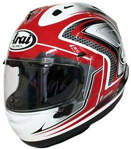 Arai RX-7V Spada Casco Moto Integrale Sport Racing Con Top Presa D'Aria