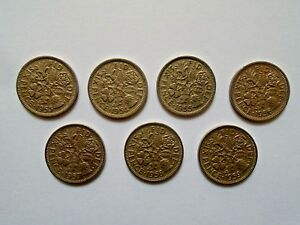 LUCKY Sixpence 1953 - 1959 Choose Date (supplied in coin wallet) 54 55 56 57 58