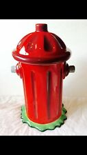 Fire Hydrant - Dog Treat Canister by Pacific - Cookie Jar for Dogs  NIB