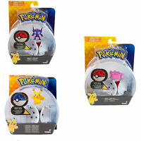 Pokemon Throw N Pop Tomy Poke Ball Sableye Ditto Pikachu Action Toy for Kids 3+