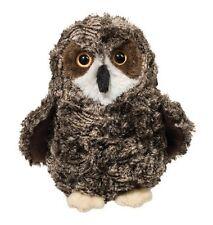"""Douglas Cuddle Toys 10 """" Plush SHRILL the SAW-WHET OWL ~NEW~"""