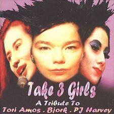 Take 3 Girls: A Tribute to Tori Amos, Bjork and PJ Harvey ~ Various Artists  Box