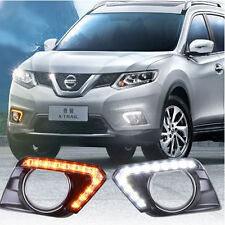Direct Fit Nissan Rogue Switchback 12-LED Daytime Running Lights w/ Turn Signal