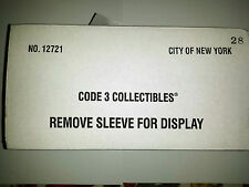 Code 3 City F.D.N.Y. Seagrave Harlem Hilton Rear Ladder L-28 Truck 12721 c3