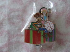 Disney Pin - DSF DSSH - Toys for Tots 2015 - Woody and Bo Beep - LE500 New