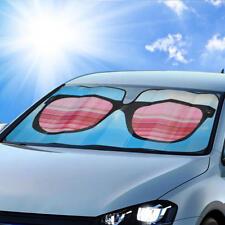 Hip Windshield Sunglasses Car Sun Shade - Reflective UV Ray Heat Light Blocker