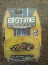 1:64 - JADA TOYS -  BIGTIME MUSCLE 1995 Chevy Corvette ZR-1