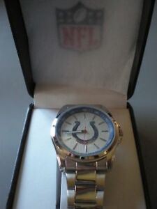 INDIANAPOLIS COLTS Mens  WATCH Logo NFL BRAND NEW IN BOX Colts Playoffs LUCK