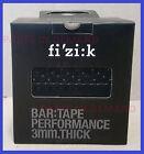 Fizik Performance Handlebar Bar Tape Black 3mm Thick BRAND NEW