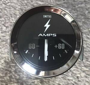 SMITHS AMMETER. 60 AMP CLASSIC CA4 . NEW 52 mm DIAMETER