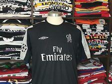 CHELSEA away 2004/05 shirt - DROGBA #15-Marseille-Galatasaray-Jersey-Ivory Coast