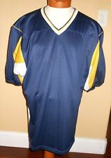 Teamwork Athletic Apparel Mens Xl 46-48 Football Jersey Blue, Gold, White Color