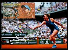 2018 Simona HALEP,tennis,Rolland Garros winner,World nr.1,Romania,FDC,maxi card