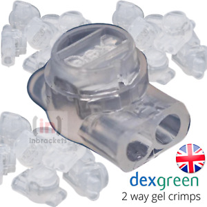Jelly Gel Crimps 2 WAY 8A BT External Internal cable Connector 2Wire Telephone