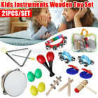 21x Percussion Xylophone Set Kids Baby Toddler Musical Instrument Toys Band Kit
