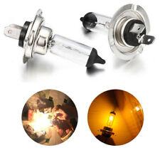 Bombilla Halógena Blanco H7 100W 3200-3500K conjunto de lámpara de baja/alta haz de reemplazo