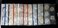 Lot of United States 2001 2002 1988 Mint Uncirculated Coin Sets P & D $13.46